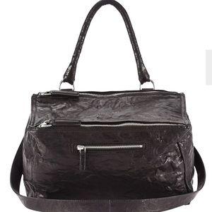 Givenchy Black Pandora Leather Bag, NWT